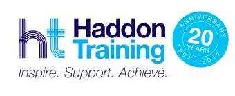 Logo for Haddon Training