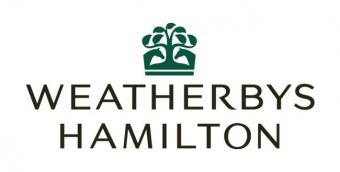 Logo for Weatherbys Hamilton