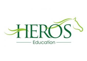 Logo for HEROS Charity